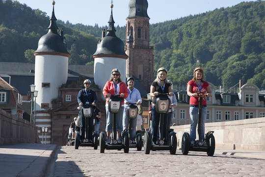 Self-balancing scooter tour from Mannheim to Heidelberg