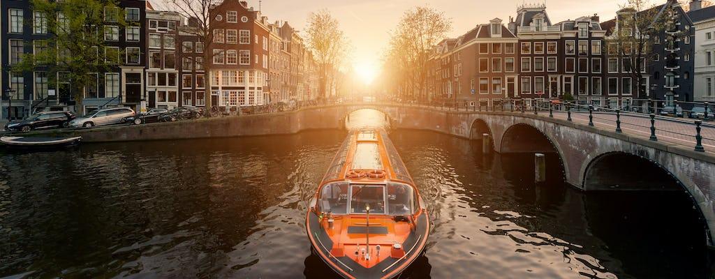 Amsterdam Nightlife Ticket de 2 días y billete para crucero por los canales