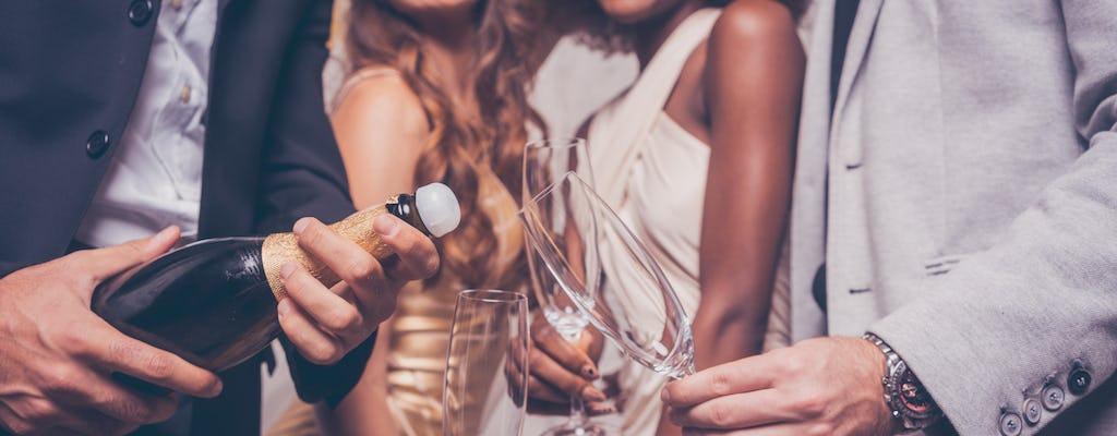 Amsterdam Nightlife Ticket mit einer Flasche Champagner