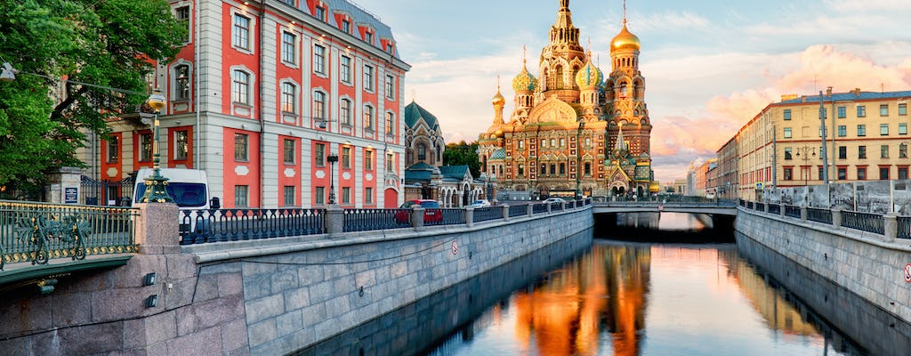 Half day walking tour to Saints Peter and Paul Fortress and the Spilled Blood Church in St. Petersburg