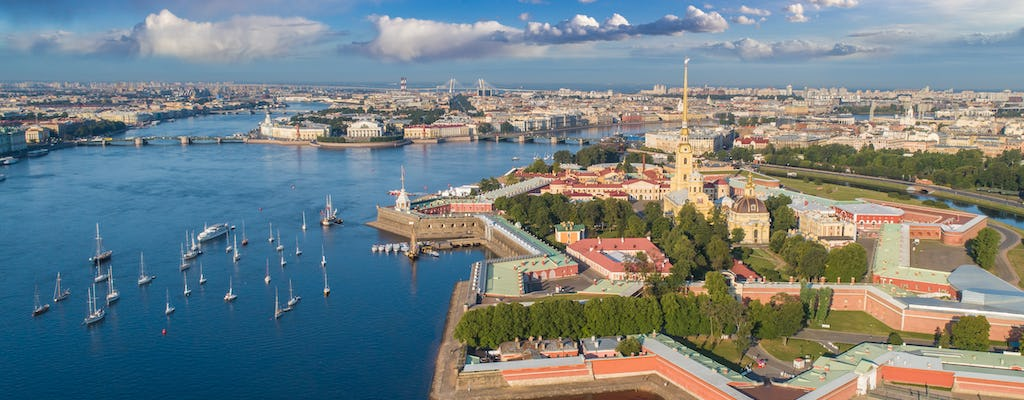 Half day walking tour to Saints Peter and Paul Fortress in St. Petersburg
