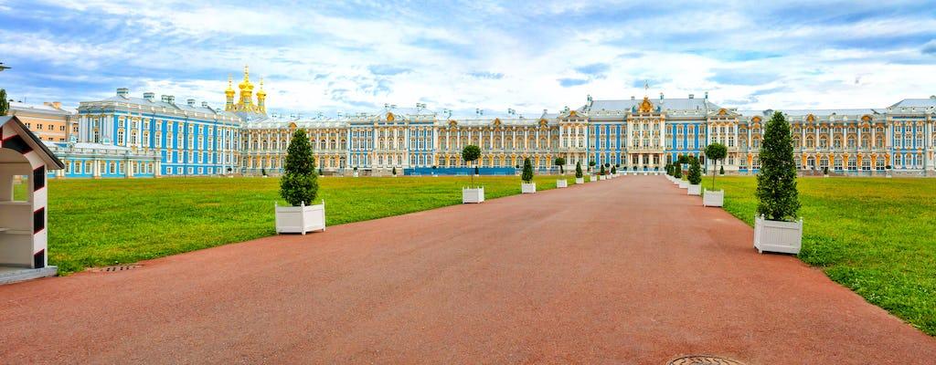 Tour di mezza giornata a piedi al Palazzo di Caterina e alla Sala dell'Ambra a San Pietroburgo