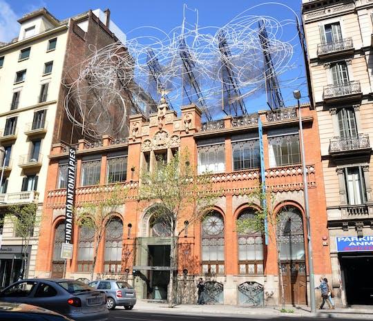 Entradas para la Fundació Antoni Tàpies