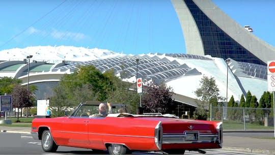 Visita guidata di 2 ore a Montréal in una Cadillac convertibile