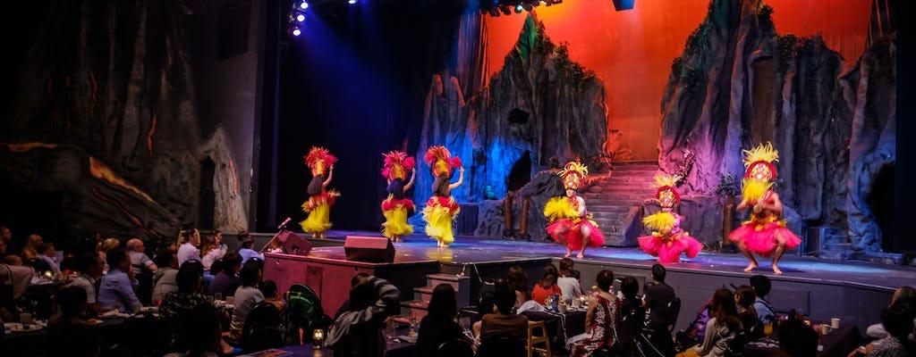 Spettacolo serale di Magic of Polynesia con opzioni per la cena