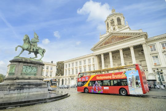Brussels hop-on hop-off bus pass
