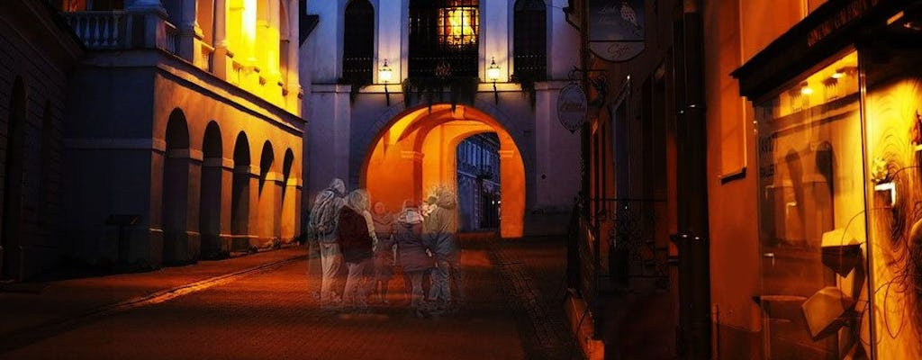 Night Walking Ghost tour in Vilnius