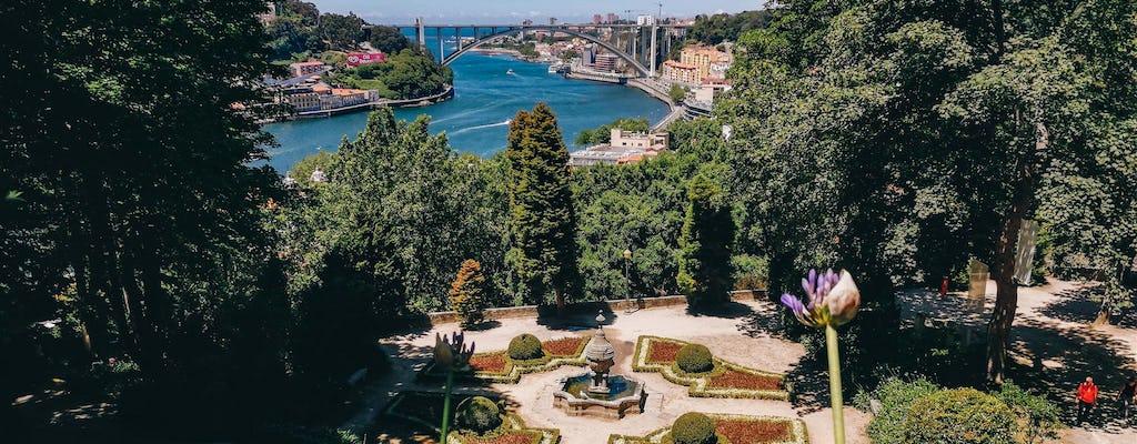 Discovery Game Porto's Jardins do Palacio de Cristal vistas de contos de fadas e melhores conversas