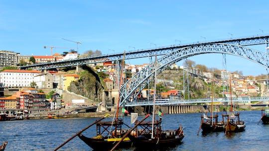 Discovery Game Portos Aussicht auf Vila Nova de Gaia und Portweine