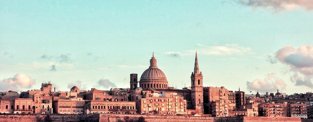 Selbstgeführter Entdeckungsspaziergang in geheimen Innenhöfen von Valletta mit mysteriösen Geschichten