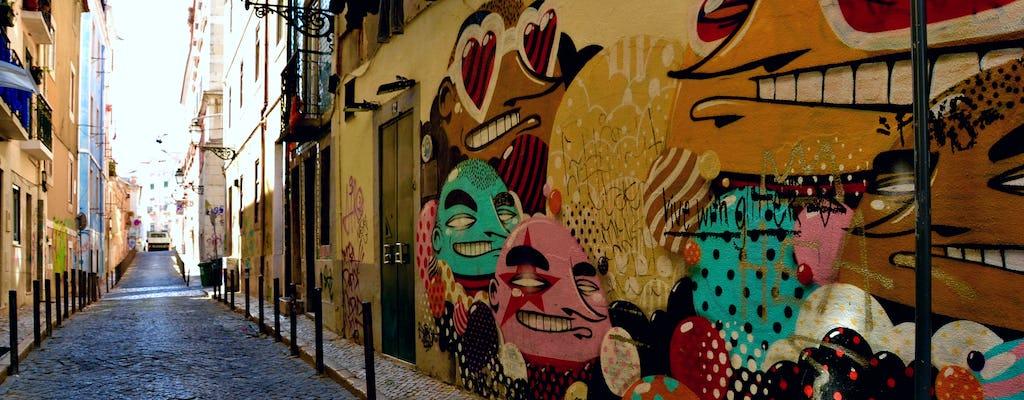 Balade découverte autoguidée dans le Bairro Alto et Bica de Lisbonne: personnages amusants et vues fabuleuses