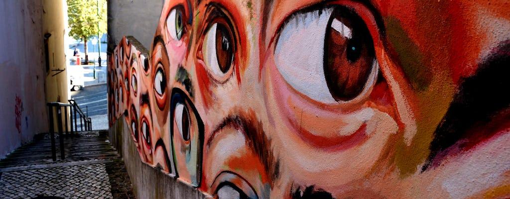 Discovery Walk autoguiado en Alfama y Baixa con arte al aire libre