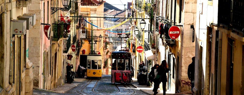 Paseo de descubrimiento autoguiado en el Barrio y el Príncipe Real de Lisboa con lugares de reunión locales e historias olvidadas