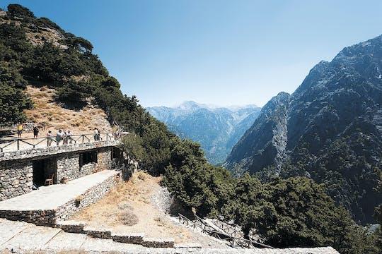 Die Samaria-Schlucht, der Grand Canyon Kretas