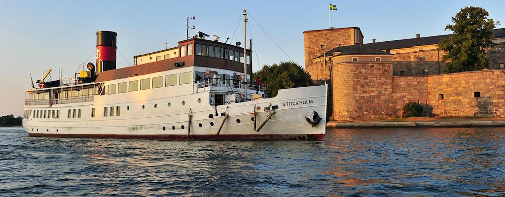 Excursión en barco por el archipiélago de Estocolmo con guía