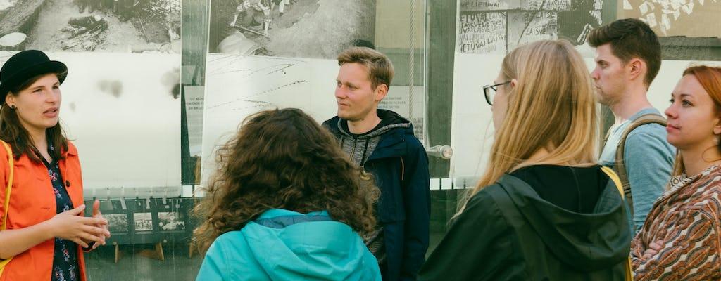 Storia sovietica Tour a piedi a Vilnius