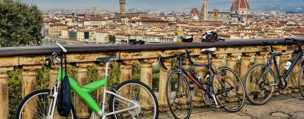 E-bike tour of Florence and its hills with tasting