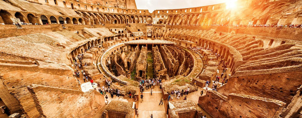 Fast track Colosseum tickets with multimedia experience