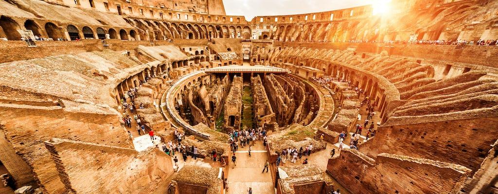 Bilhetes rápidos para o Coliseu com experiência multimídia