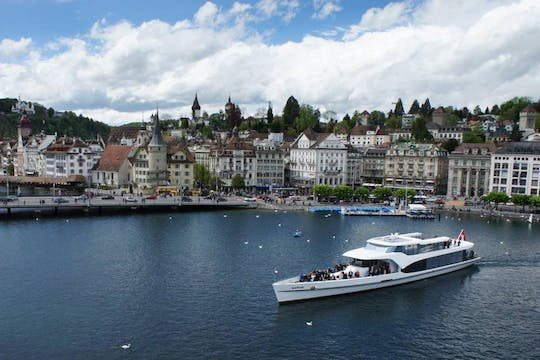 One-day tour Lucerne with Yacht Cruise  from Zurich