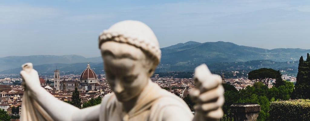 Passeio de bicicleta pelas colinas ao redor de Florença com degustação