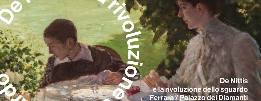 """Biglietti a data aperta per la mostra """"De Nittis e la rivoluzione dello sguardo"""" a Palazzo dei Diamanti"""