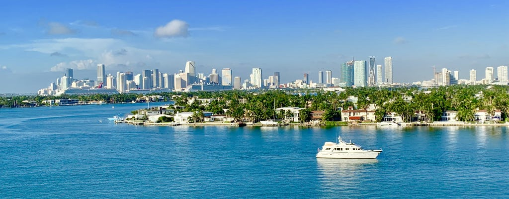 Miami Movie tour avec bateau touristique