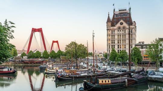 Caminhada autoguiada de descoberta dos pontos turísticos e segredos de Rotterdam