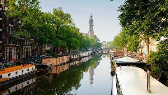 Samodzielny spacer po dzielnicy Jordaan w Amsterdamie