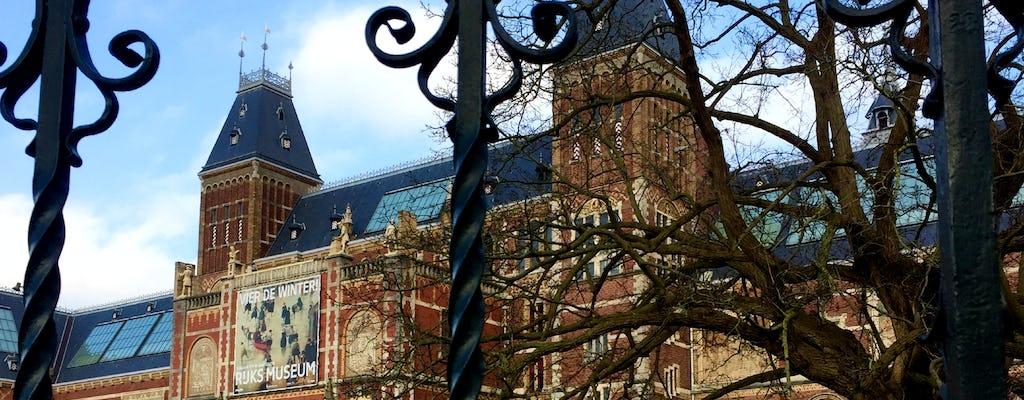 Passeggiata alla scoperta autoguidata nell'arte e cultura all'aperto De Pijp di Amsterdam