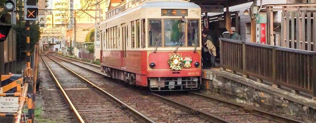 Tour in tram nostalgico nascosto di Tokyo