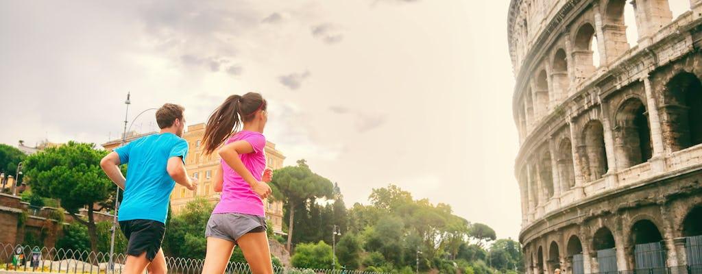 Morgendliche Lauftour durch Roms Highlights