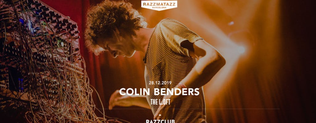 Colin Benders @ The Loft | Razzclub W- (tba)