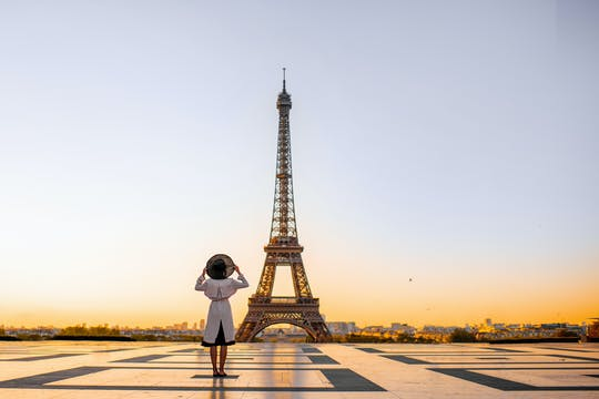 Visita guiada ao segundo andar da Torre Eiffel