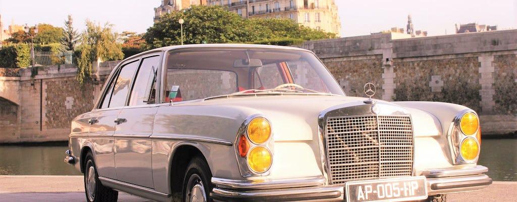 Дегустация экскурсия в Париже в автомобильной коллекции с вином