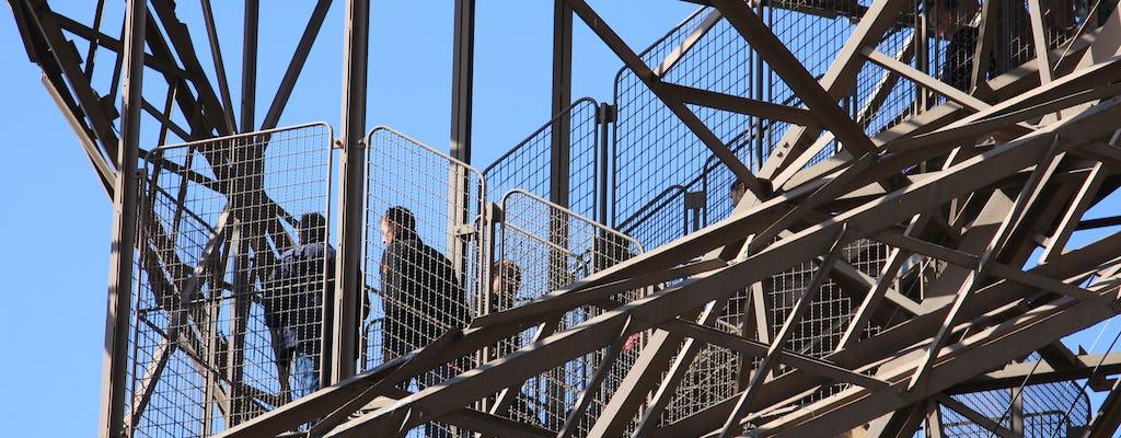 Eiffel Tower climbing experience