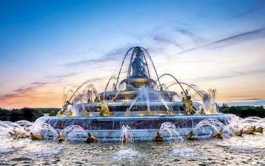 Tour pelo Palácio de Versalhes e show nos Jardins Musicais