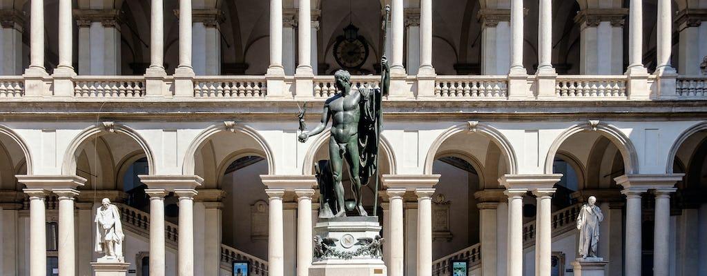 Visite guidée de la galerie Brera et de la porte Nuova