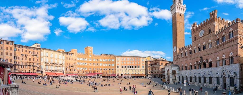 Excursión privada de medio día a pie por Siena