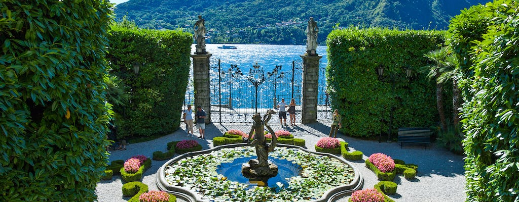 Private boat tour and guided visit to Villa Carlotta
