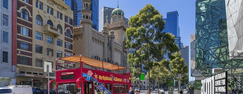 Hop-On Hop-Off  bus tour Melbourne - 24h or 48h