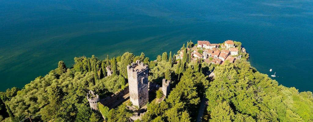 Private boat tour of Varenna, Villa Monastero and Castello di Vezio