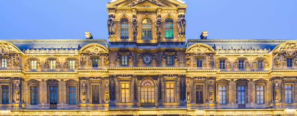 Wycieczka z przewodnikiem po Luwrze, Notre Dame z zewnątrz i lunch na wieży Eiffla