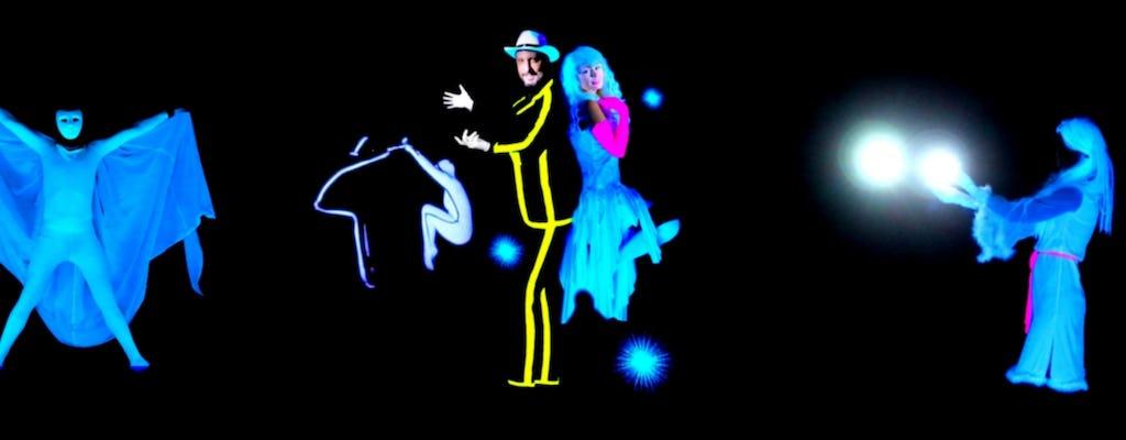 Pokaz Magic Phantom dla całej rodziny w HILT Black Light Theater