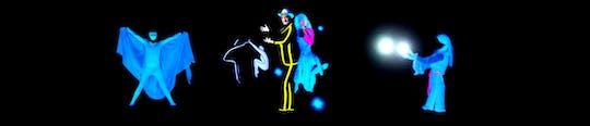 """Шоу """"Волшебный фантом"""" для всей семьи в театре HILT Black Light"""