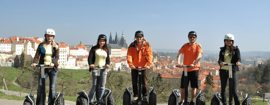 Relaxing Self-balancing scooter tour in Prague with free taxi pick up and drop off