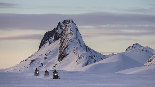 Golden Circle and snowmobile glacier tour