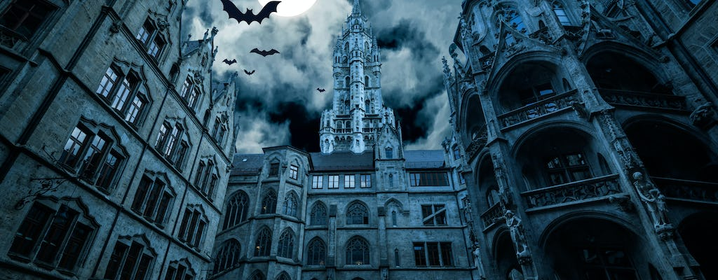 Munich haunted places and ghost stories – city game