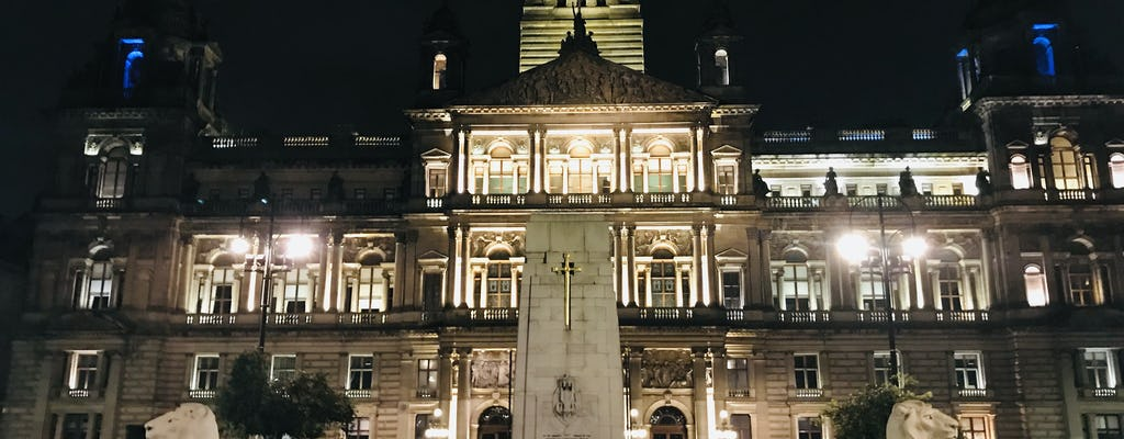 Juego de la ciudad de lugares encantados e historias de fantasmas de Glasgow
