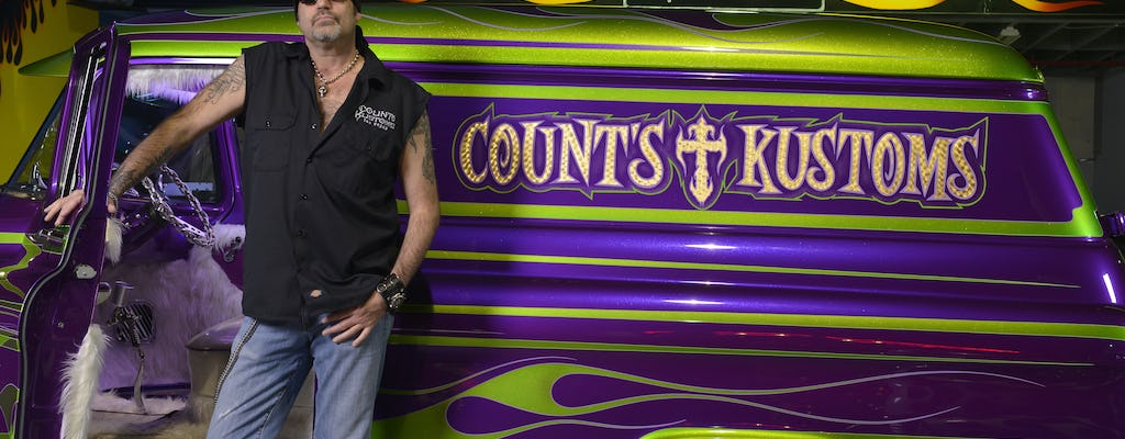 Count's Kustoms VIP Tuesday dinner tour with meet and greet